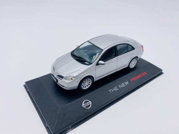 Nissan The New Primera Grey