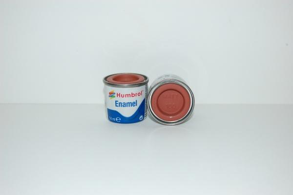 No 100 Rouge Brun Mat Pot No 1 14ml