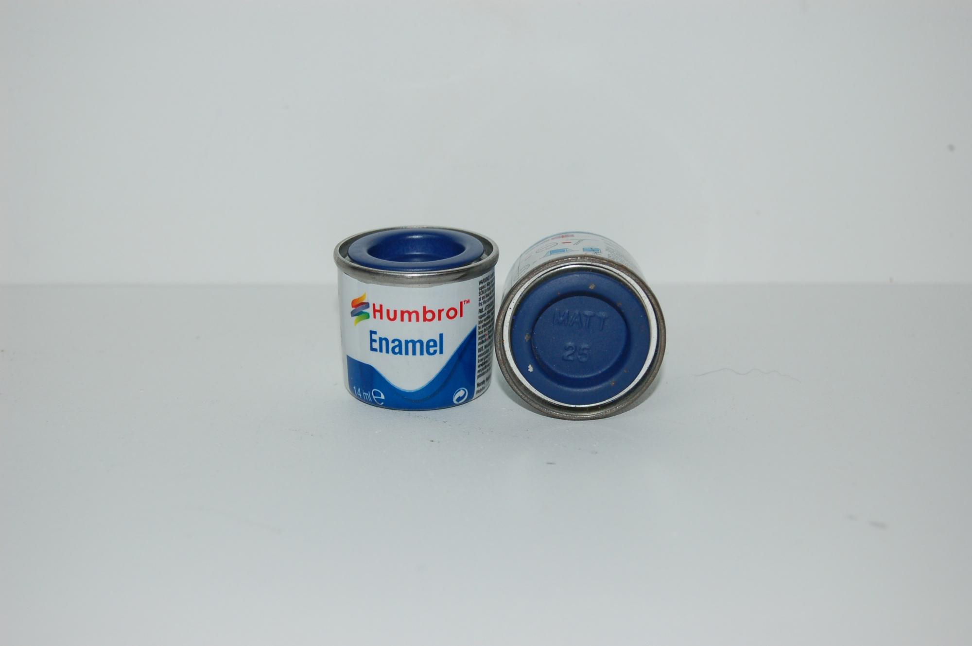 No 25 Bleu Mat Pot N 1 14ml
