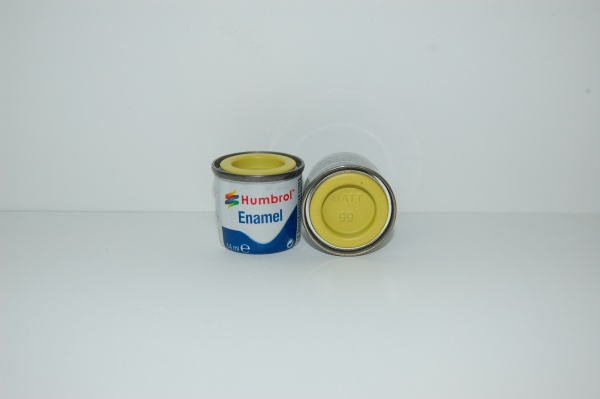 No 99 Jaune Citron Mat Pot No 1 14ml