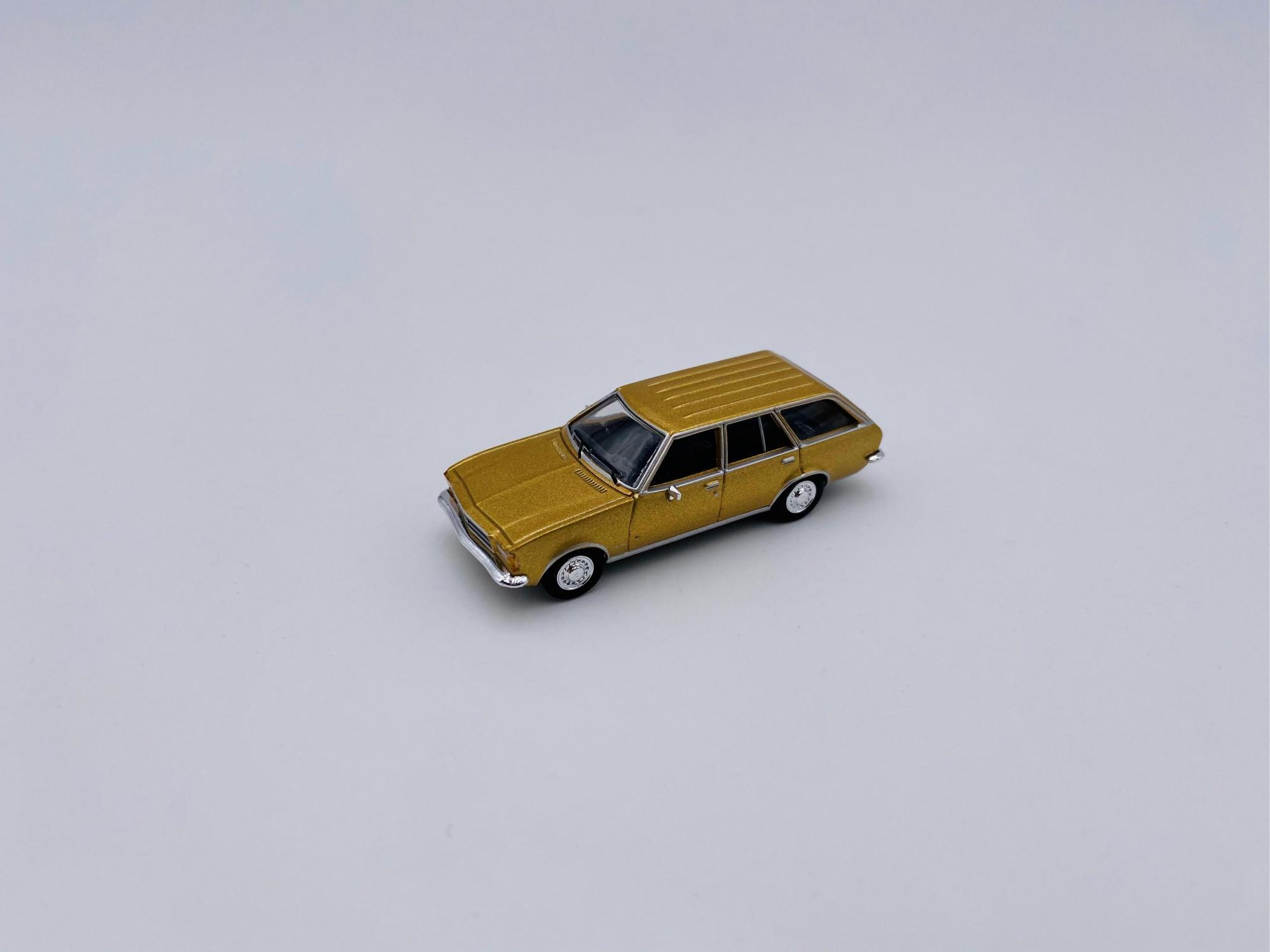 Opel D Caravan Doré Métallic