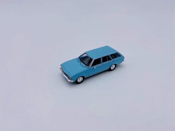 Opel D Caravan Light Blue