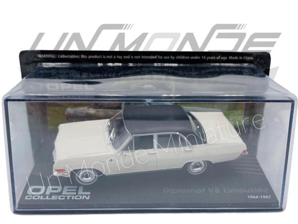 Opel Diplomat V8 Limousine 1964-67 White & Black