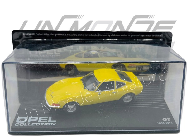 Opel GT 1968-73 Yellow