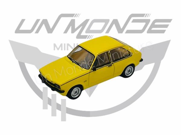 Opel Kadett C City J Light Yellow