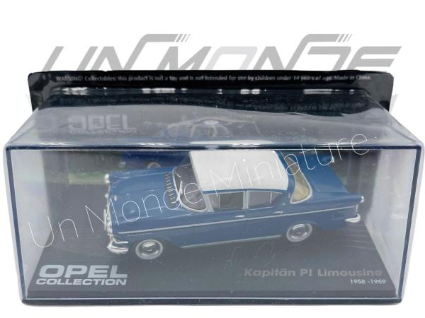 Opel Kapitan P1 Limousine 1959-59 Blue & White