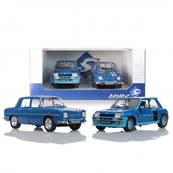 PACK R5 Turbo Bleu & R8 Gordini 1100