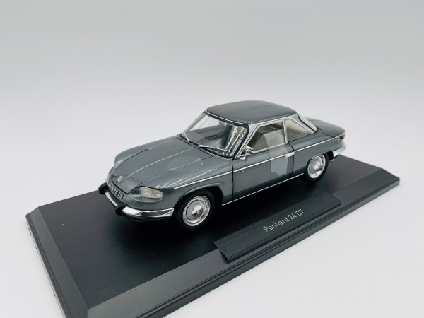 Panhard 24 CT 1964 Grey Sylver Grey metallic