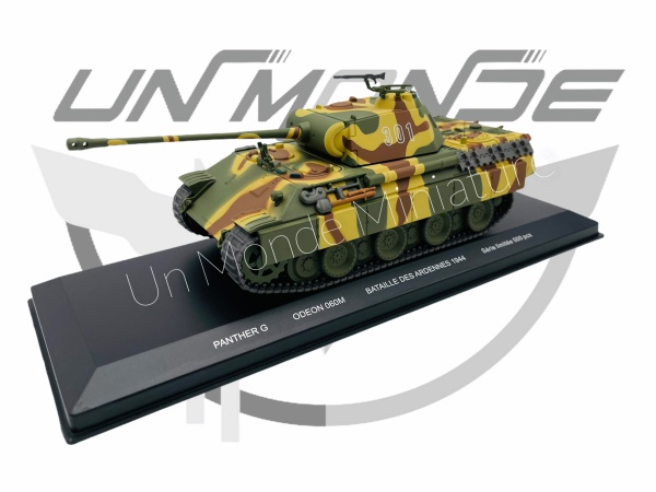 Panther G #301 Belgique Ardennes 1944