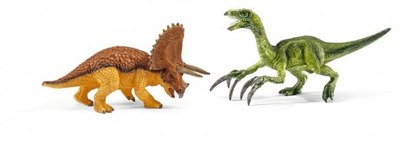 Petits Triceratops et Therizinosaure