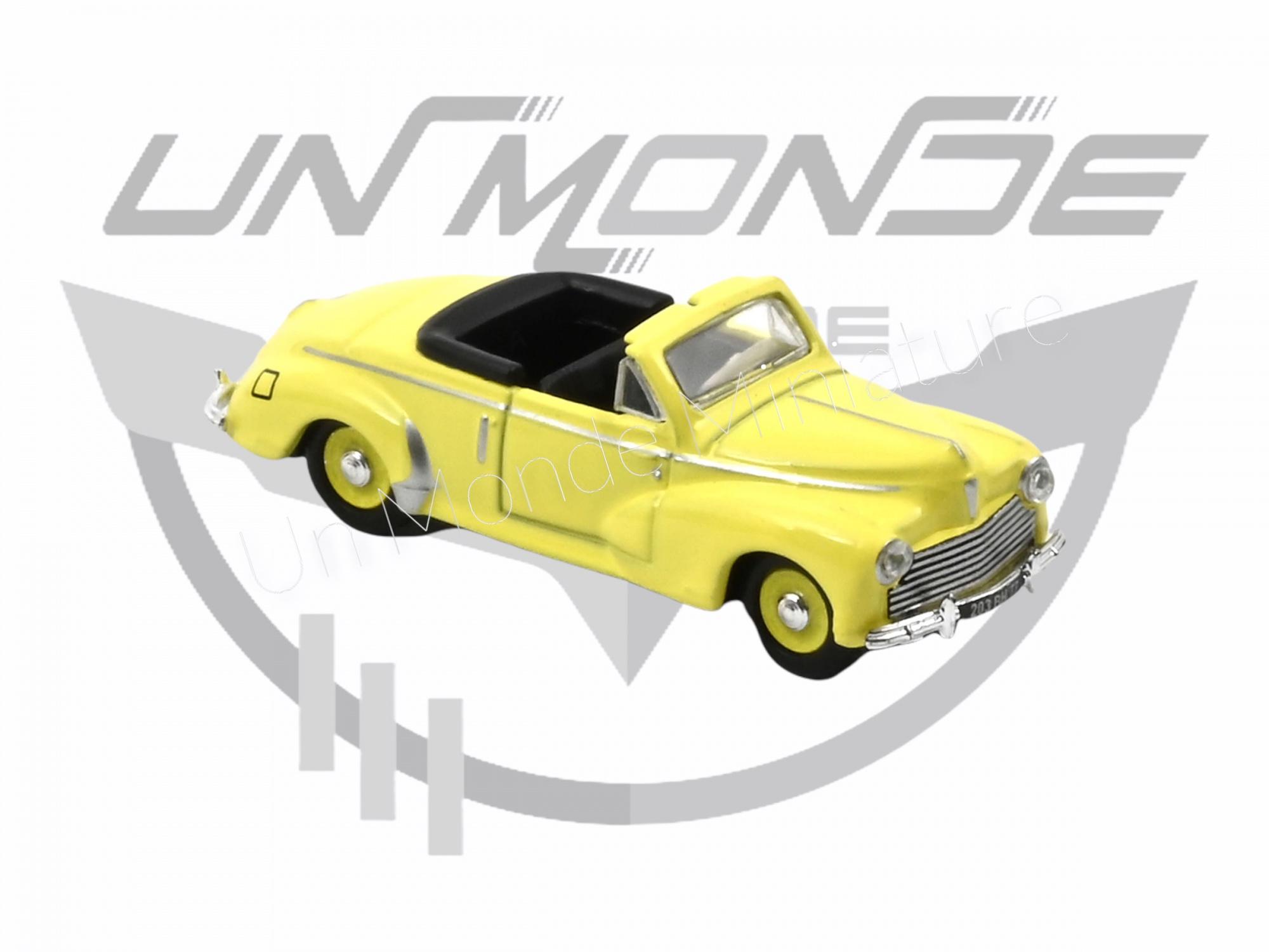 Peugeot 203 Cabriolet 1952 Sulphur Yellow