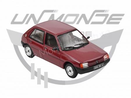 Peugeot 205 GL 1988 Dark Red