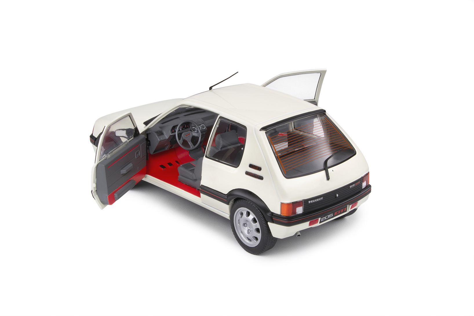 Peugeot 205 GTI 1,9L MKI Blanche 1988