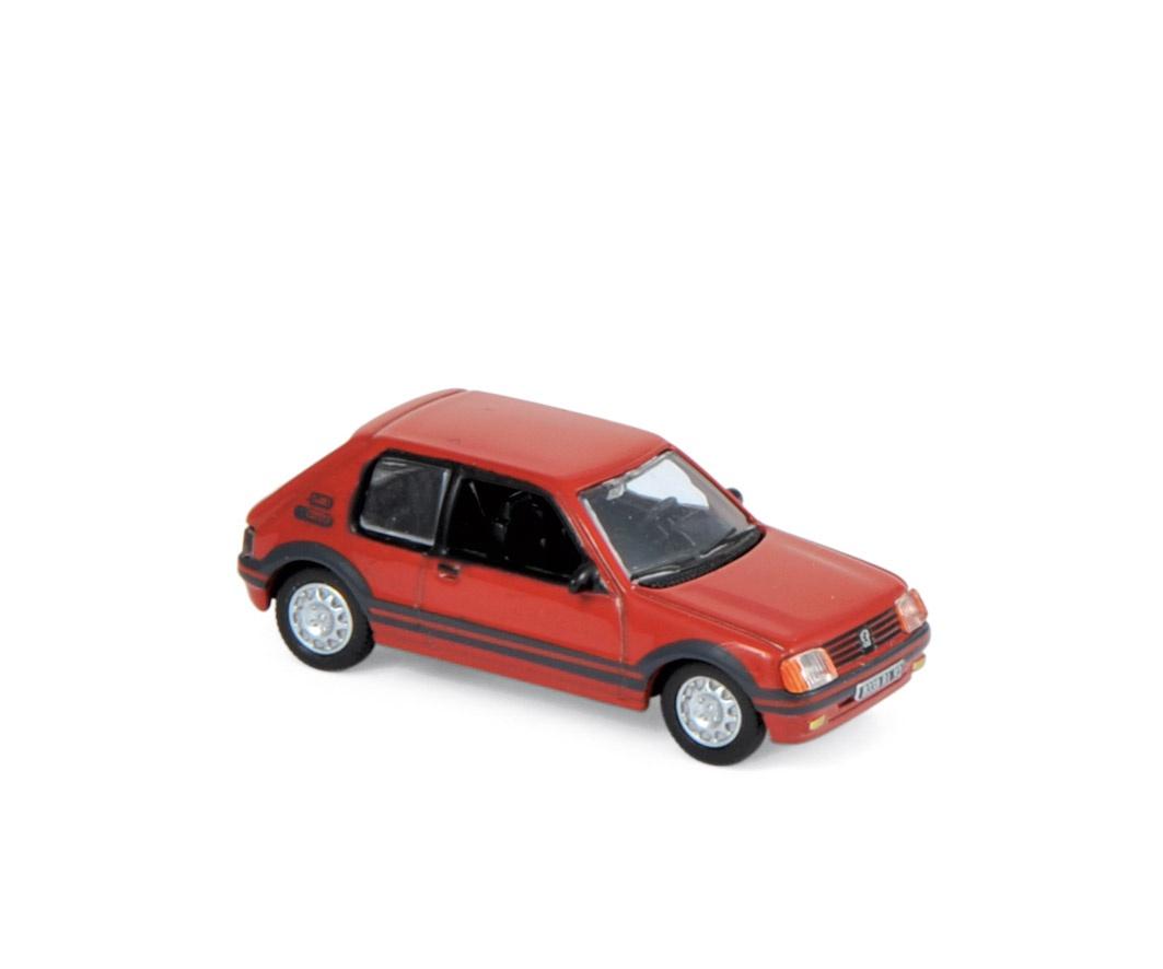 Peugeot 205 GTi 1.9 1987 Red