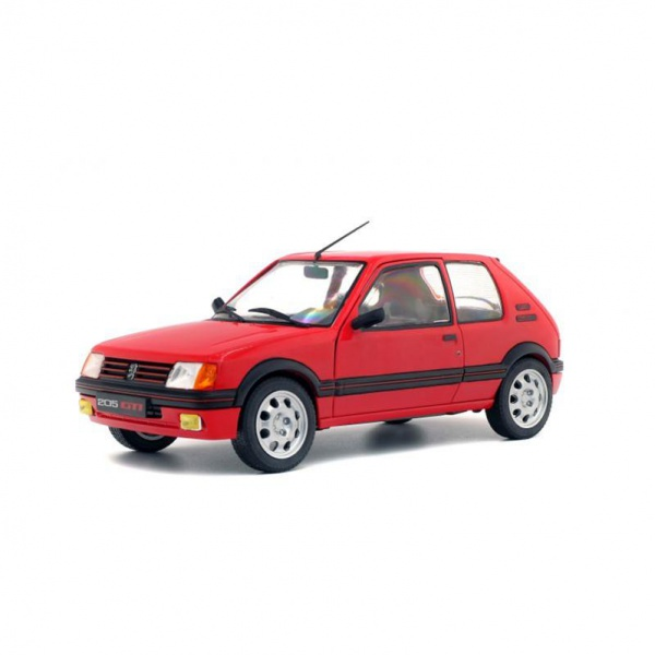 Peugeot 205 GTI 1.9 Phase 1 1988 Rouge