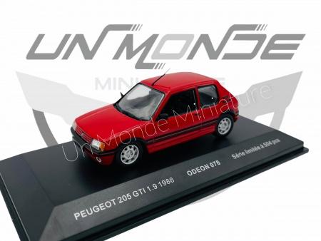 Peugeot 205 GTI 1.9 Red