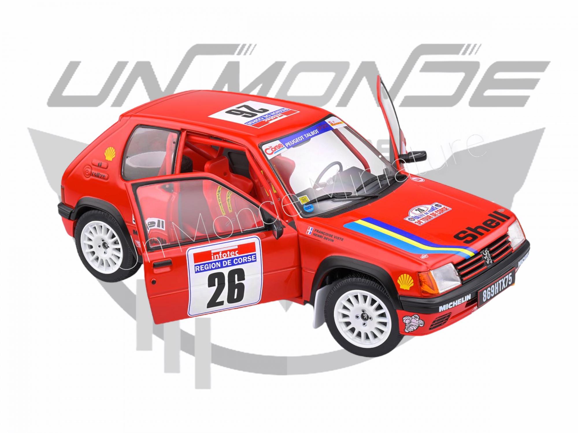 Peugeot 205 Rallye Tour de Corse 1990