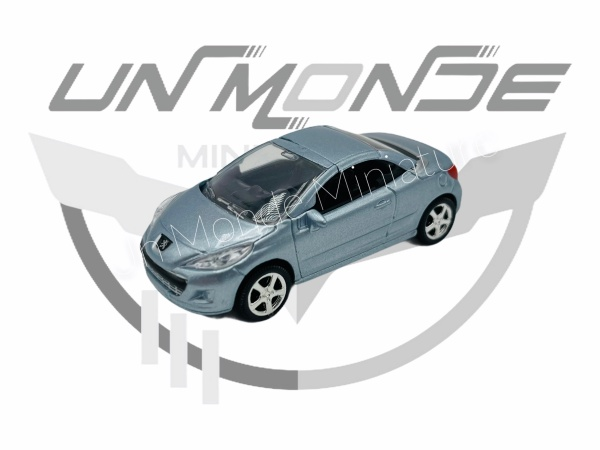 Peugeot 207 CC Bleu Metalic