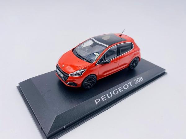 Peugeot 208 Orange