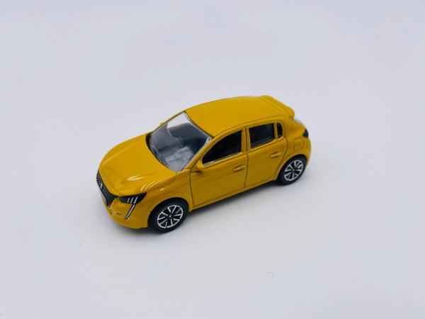Peugeot 208 Yellow Métal