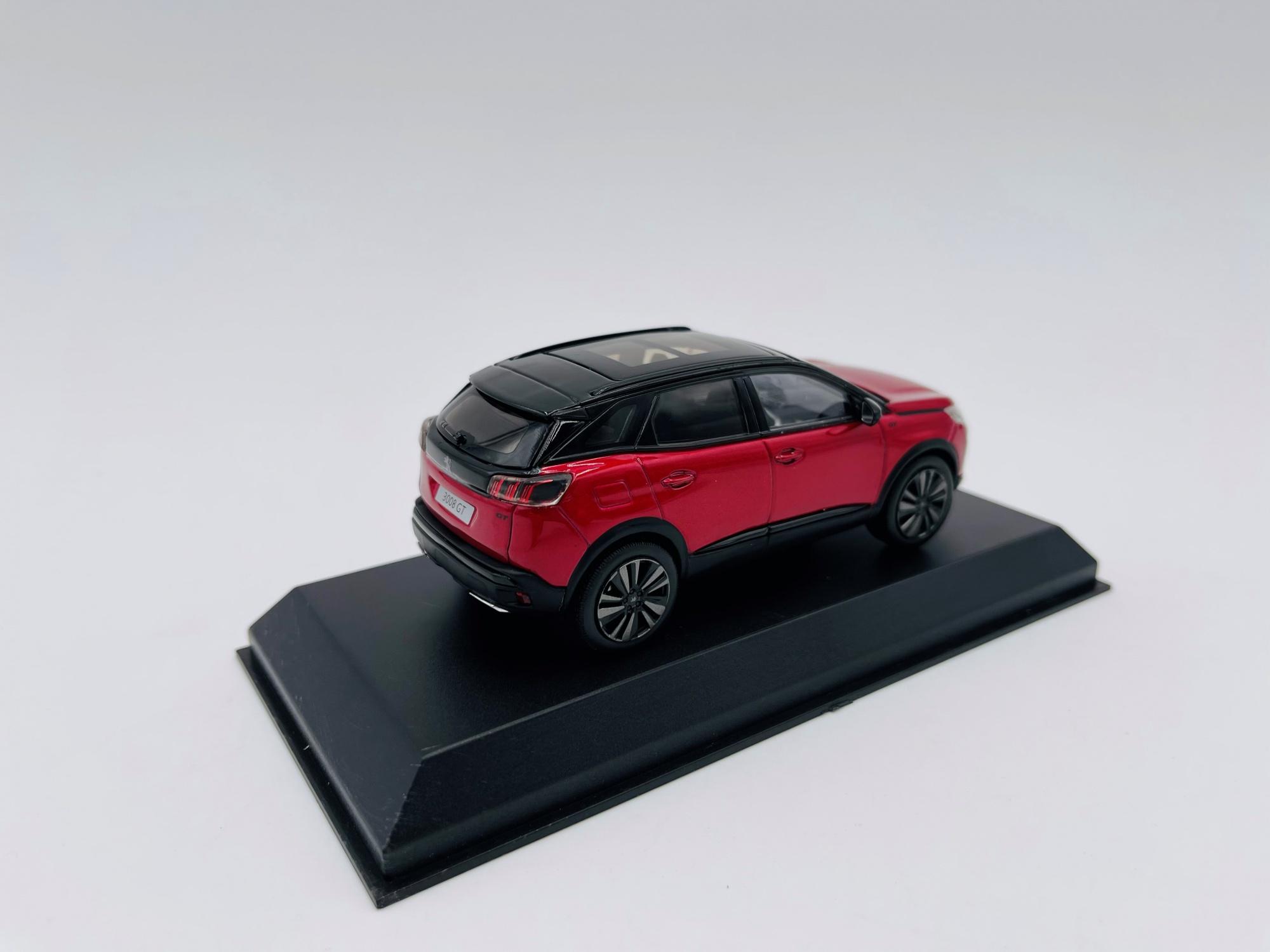 Peugeot 3008 GT Black Pack 2020 Ultimate Red