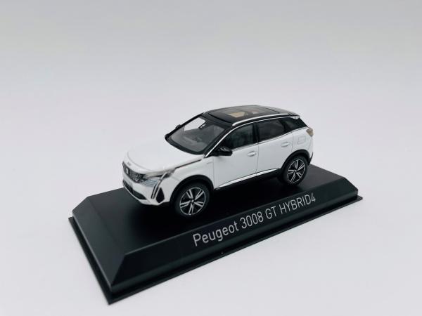 Peugeot 3008 GT HYBRID4 2020 Pearl White