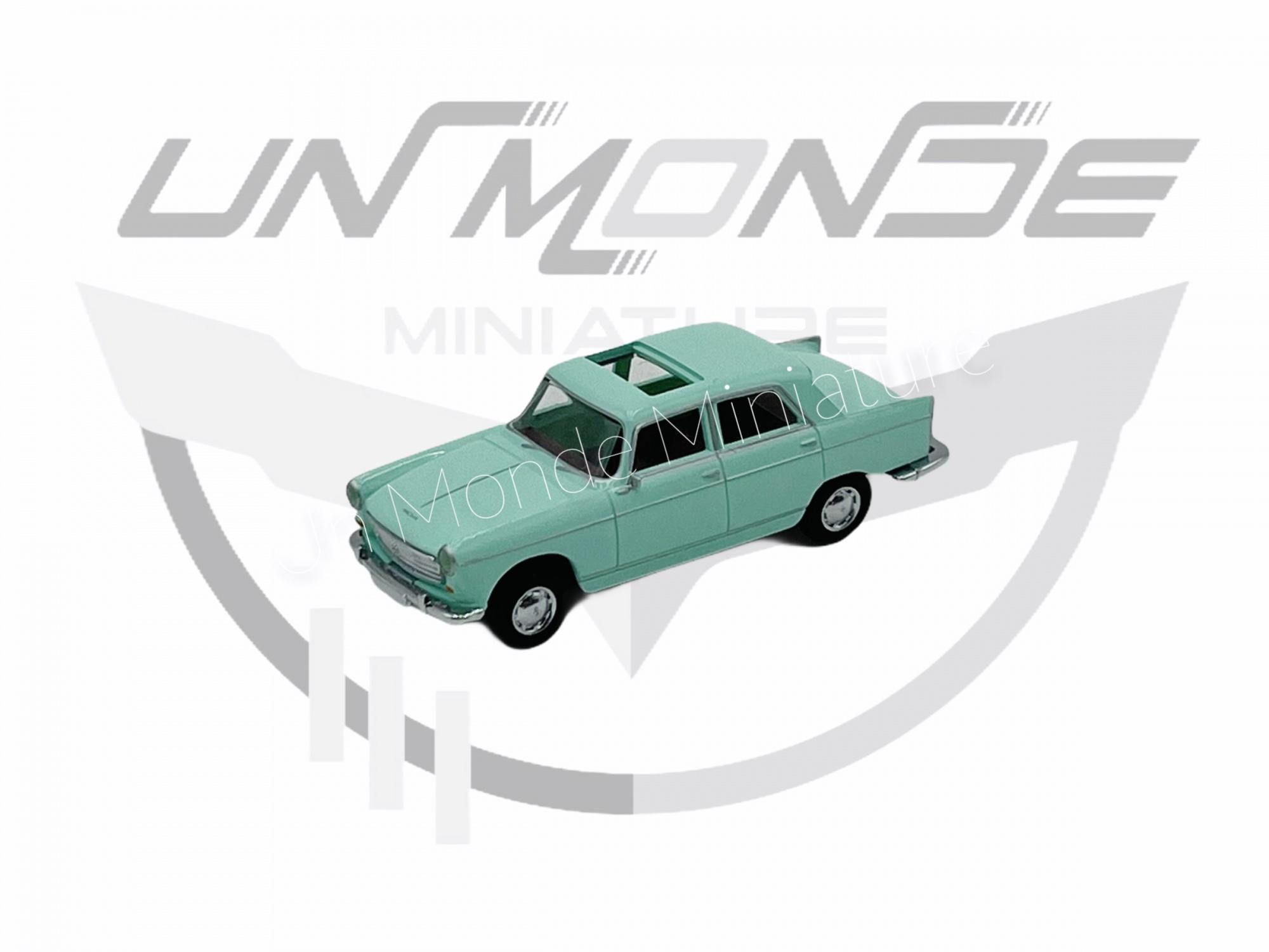 Peugeot 404 Vert Clair Avec Toit Ouvrant