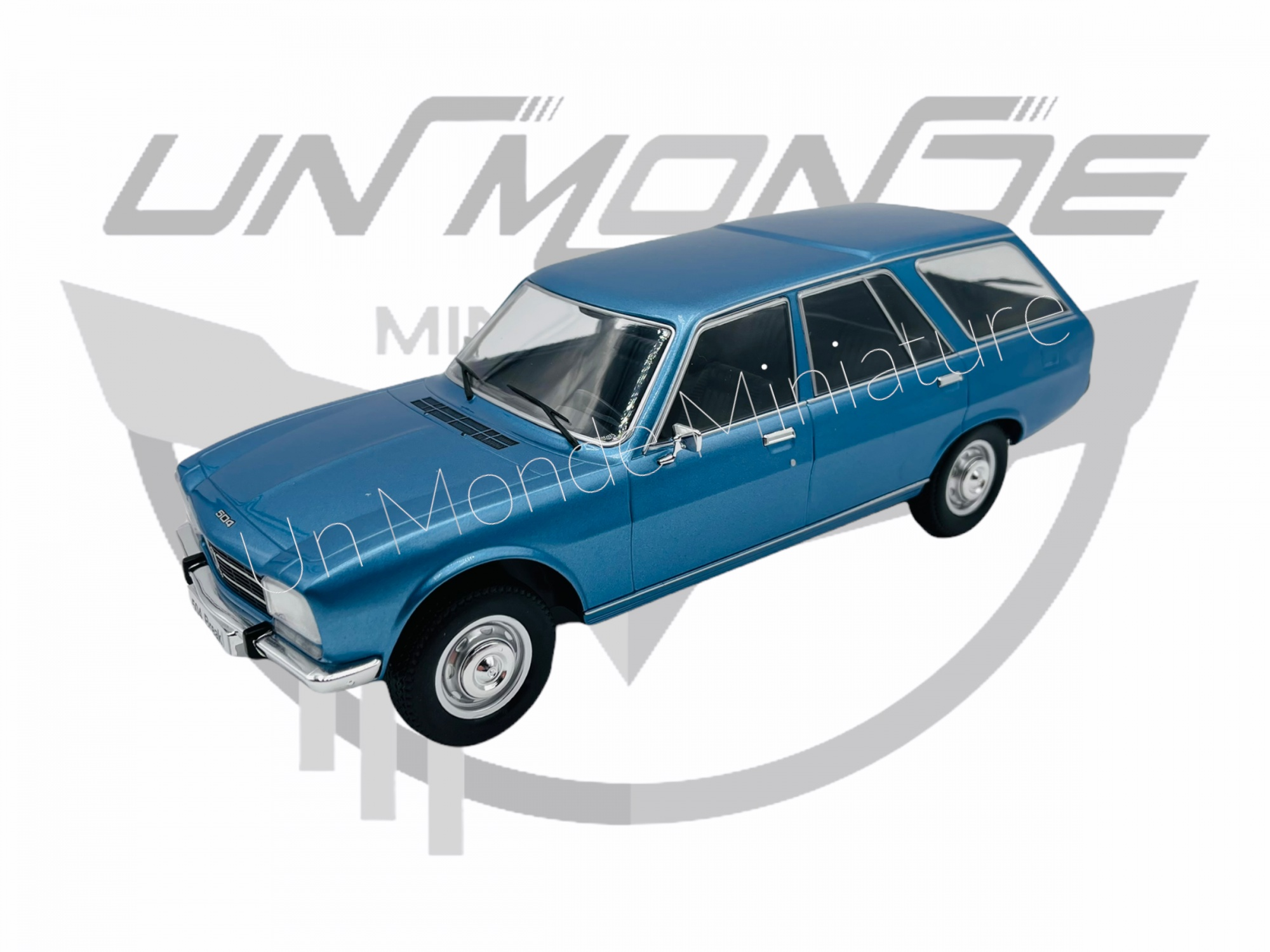Peugeot 504 Break Blue Métallic