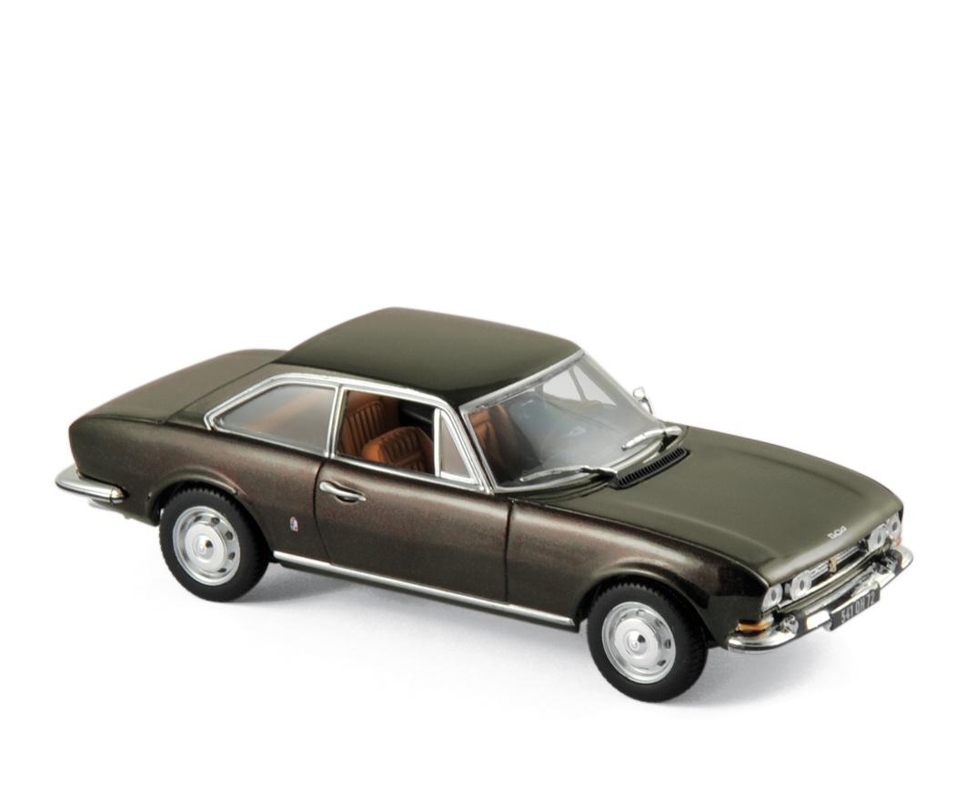 Peugeot 504 Coupé 1969 Brown metallic
