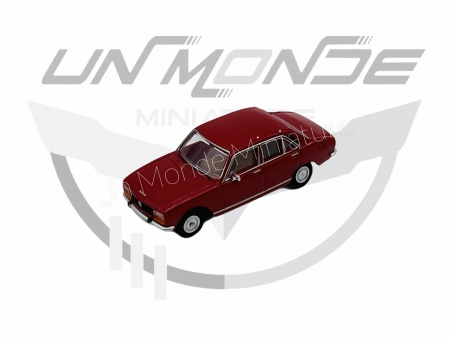 Peugeot 504 Rouge Foncé