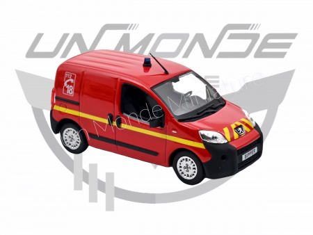 Peugeot Bipper 2009 Pompiers