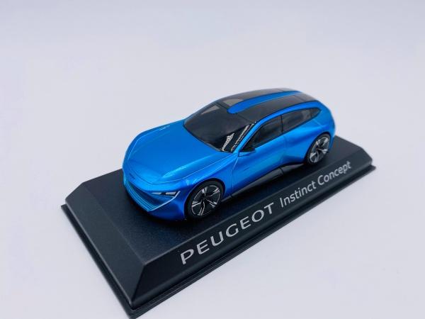 Peugeot Instinct Concept Blue