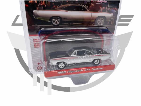 Plymouth GTX Custom 1968 Silver