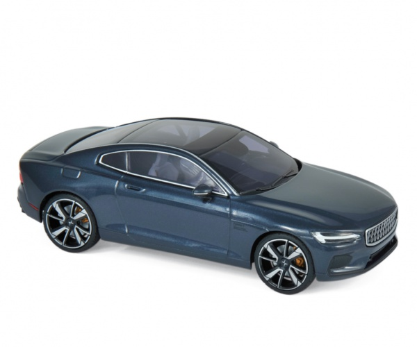 Polestar 1 2020 Midnight Blue & Chrome frame & Beige interior