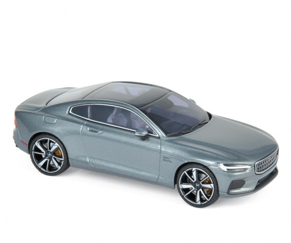 Polestar 1 2020 Osmium Grey & Chrome frame & Beige interior