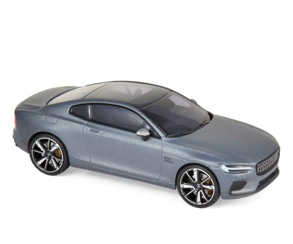 Polestar 1 2020 Osmium Grey matt & Black frame & Black interior