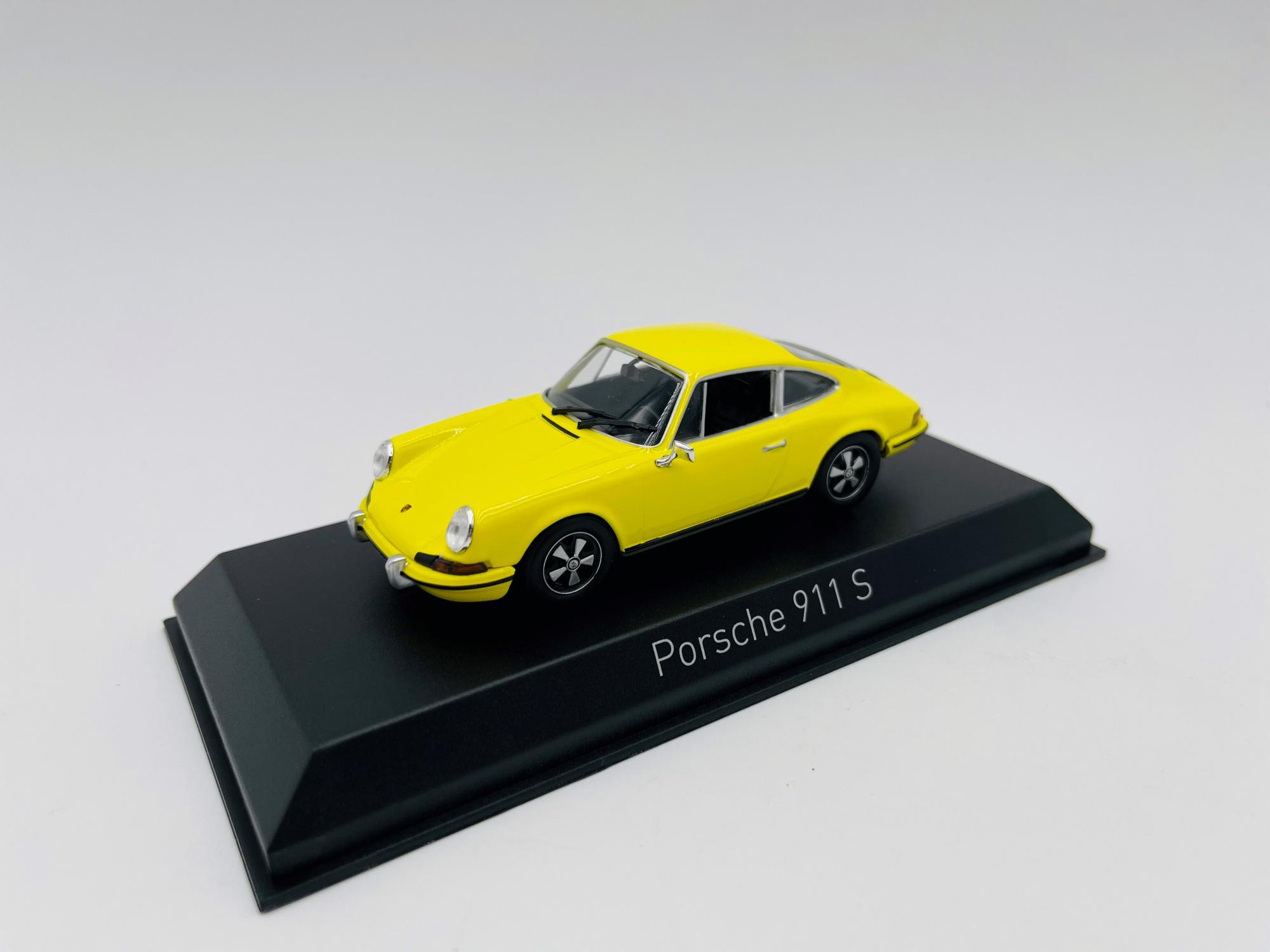 Porche 911 S 2.4 de 1973 Yellow