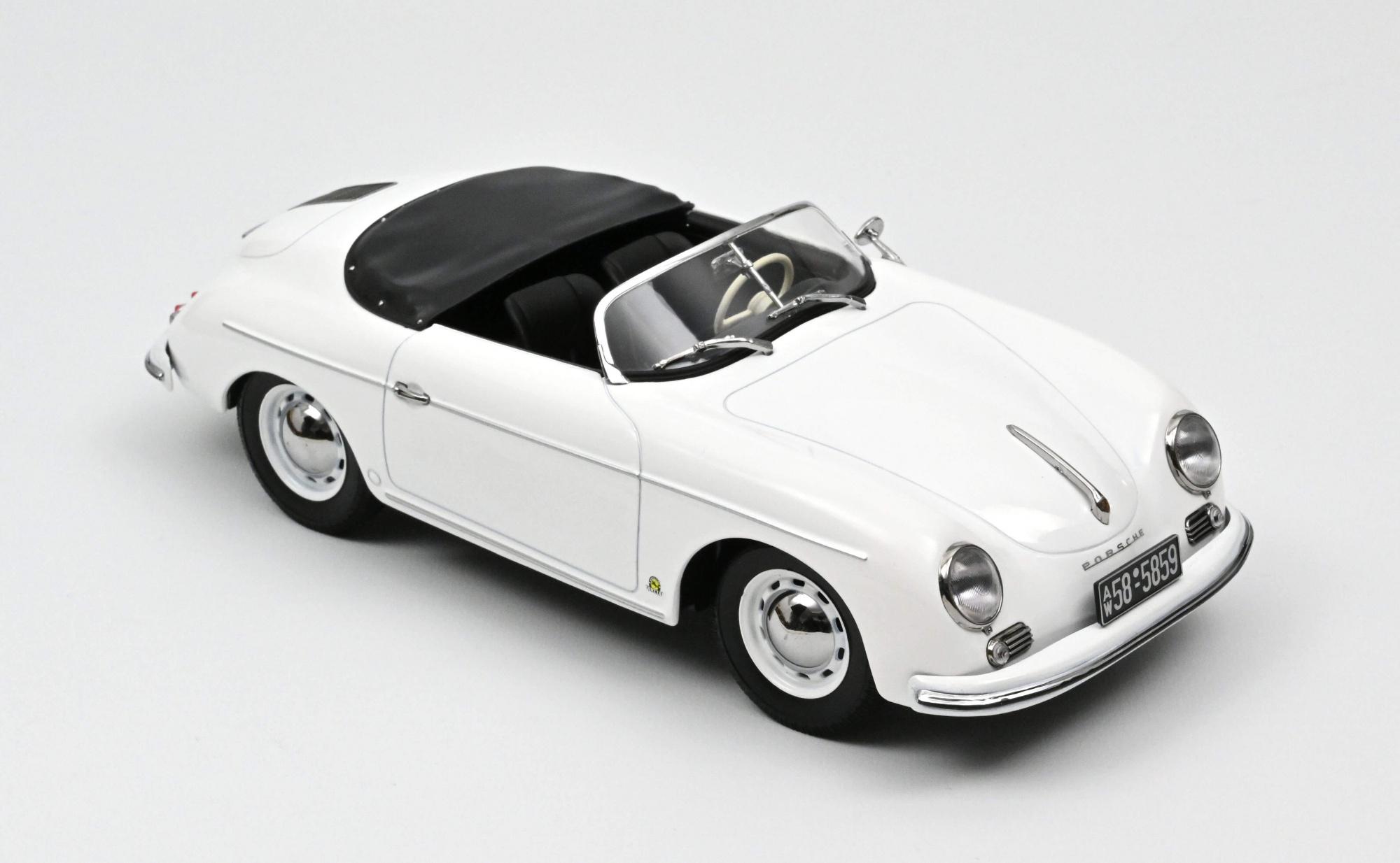 Porsche 356 Speedster 1954 White