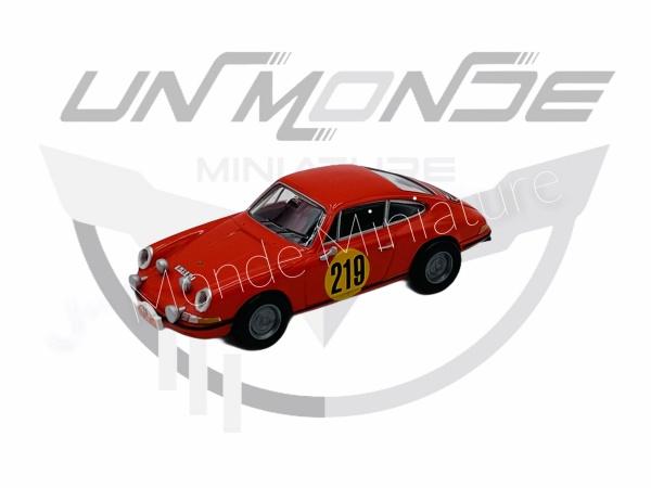 Porsche 911 #219 Rallye Monte Carlo 1967