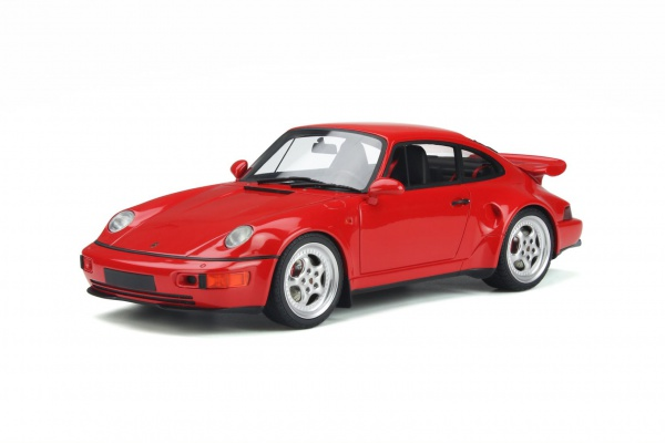 Porsche 911 [964] TURBO S Flachbau 1994 Guards Red