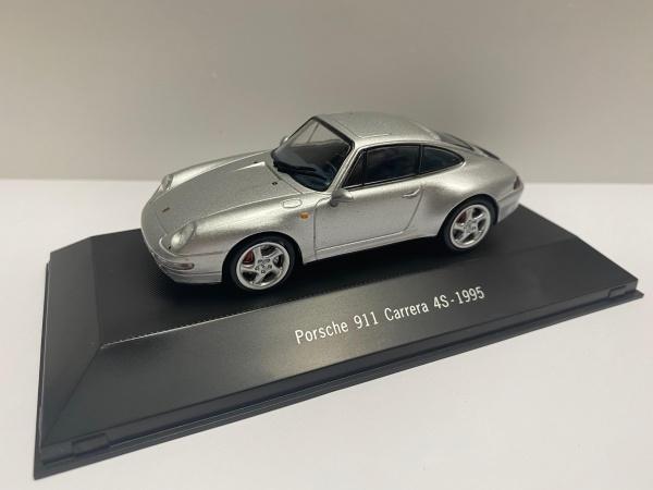 Porsche 911 Carrera 4S 993 1995 Siver
