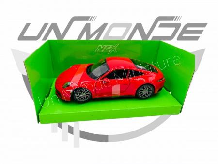 Porsche 911 Carrera 4S Red