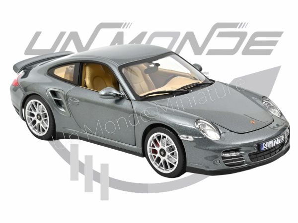 Porsche 911 Turbo 2010 Grey metallic