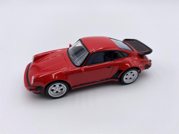 Porsche 911 Turbo 3.3L Red Jet Car