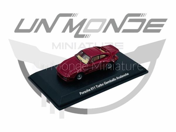 Porsche 911 Turbo Gemballa Avalanche Métallic Rouge