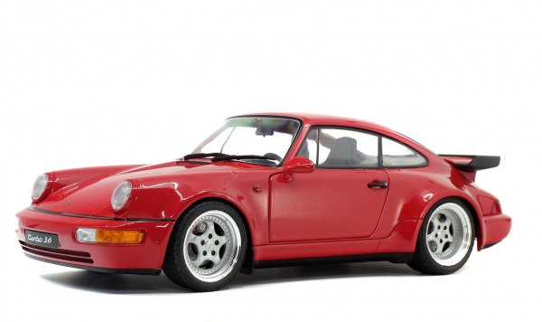 Porsche 964 Turbo 3,6 Rouge Indien