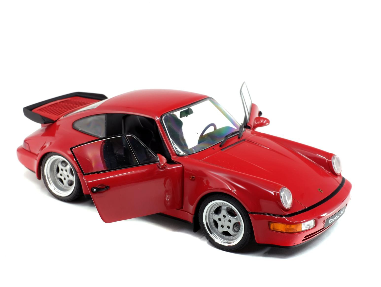 Porsche 964 Turbo 3,6 Rouge Indien