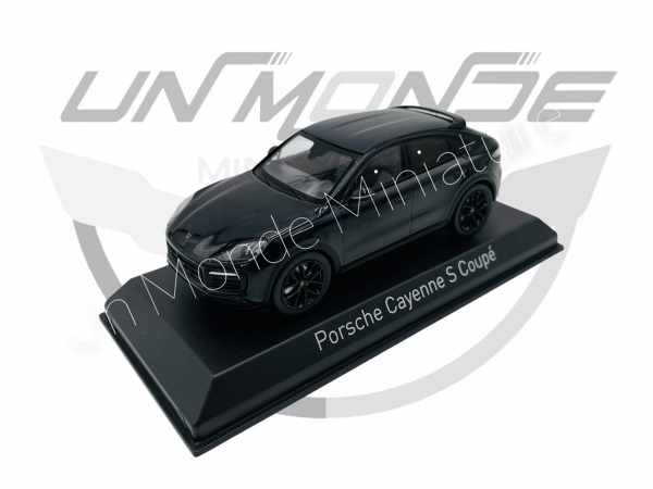 Porsche Cayenne S Coupé 2019 Blue Méttalic