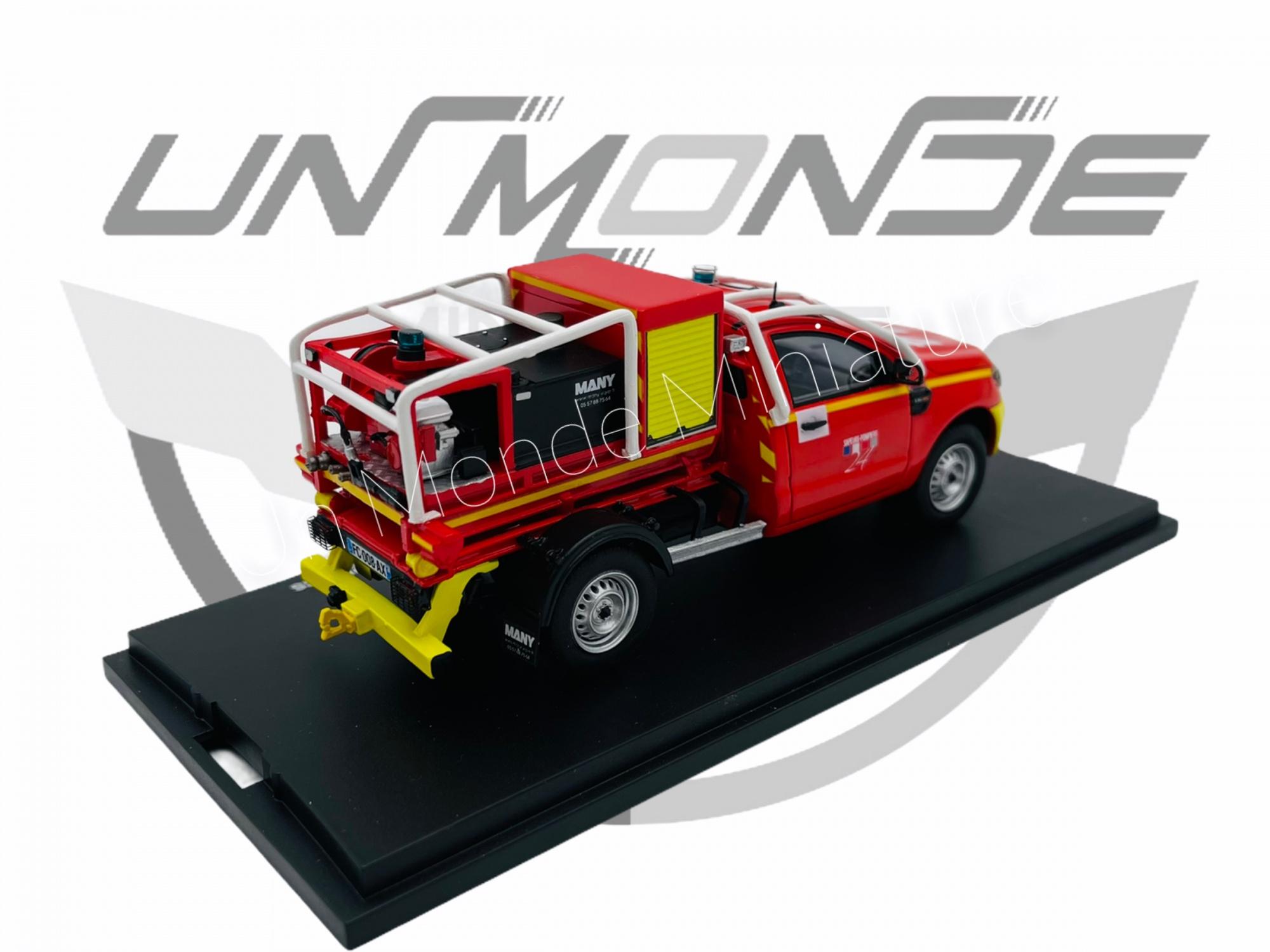 Ranger 2 Portes Pompier Cellule CCF MANY