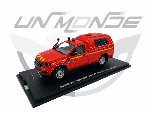 Ranger 2 Portes Pompier Cellule Sanitaire VSAVTT